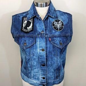 Custom Vintage Levis Vest